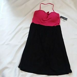 Kenneth Cole Reaction dress halter top new tags on